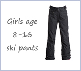 Girls 8 - 16 ski pants