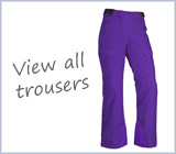 View all women's ski pants