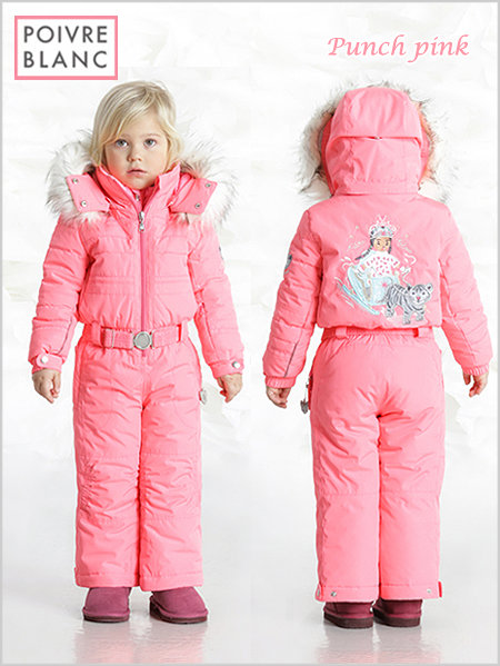 Age 2-3: Punch pink one-piece suit