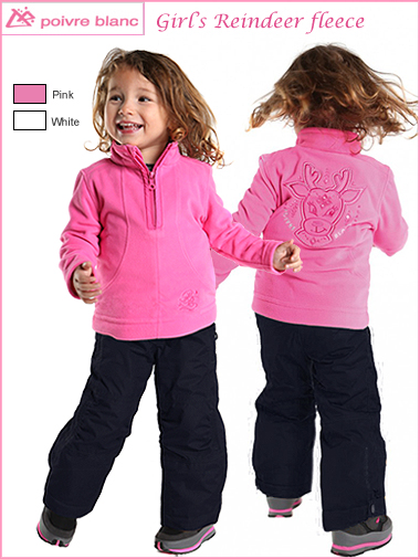 Child - Age 2: Girls Reindeer fleece