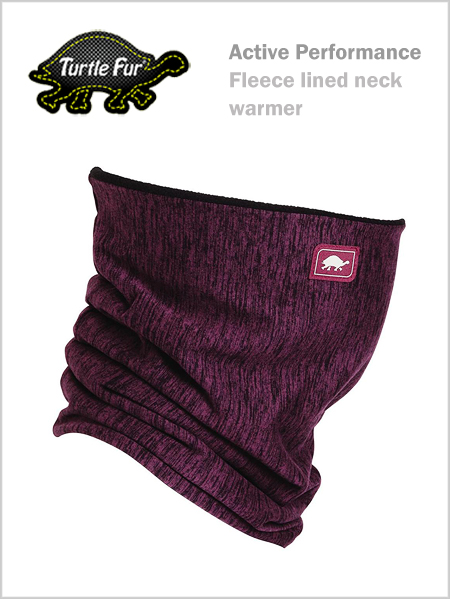 Turtle fur Pipe Dream fleece lined neck - Matrix