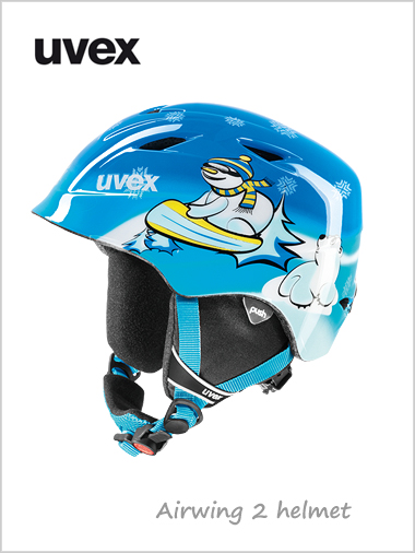Airwing 2 helmet (junior) - blue snowman