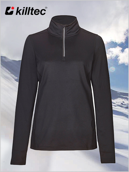 Akima breathable ski top - Black (sizes 18 - 24)