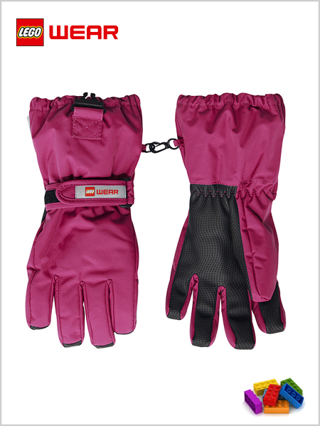 Child - junior: LEGO® Wear Tec gloves 703 - Pink