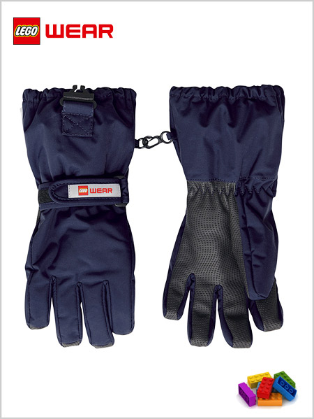 Child - junior: LEGO® Wear Tec gloves 703 - Navy