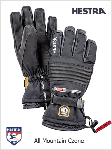 All Mountain Czone mens gloves