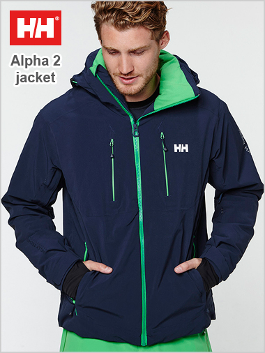 Alpha 2.0 Jacket - Deep Blue (only 2XL now left)