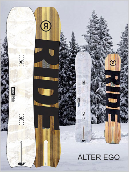 Alter Ego snowboard - split tail
