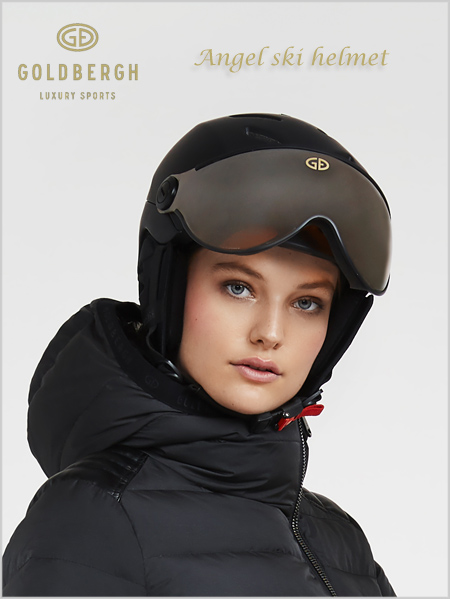 Angel ski helmet - black