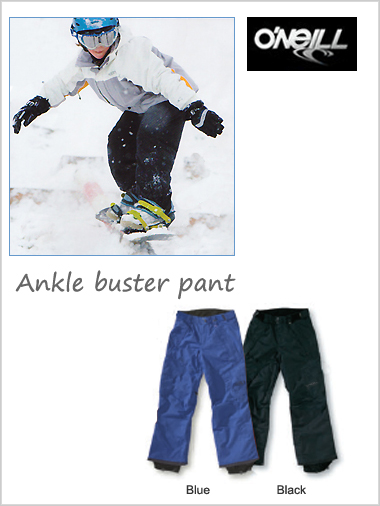 O'Neill Ankle Buster pant (Black) - age 16