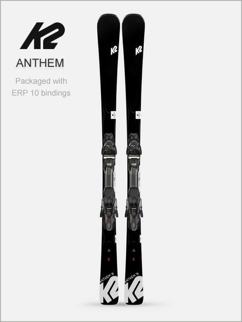 Anthem 76 skis & Marker ERP 10 bindings