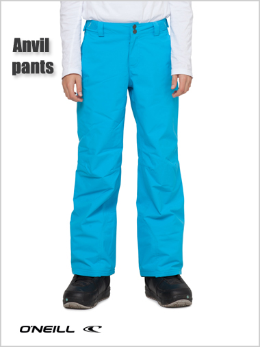 Ages 14-16: Anvil pant - pure cyan