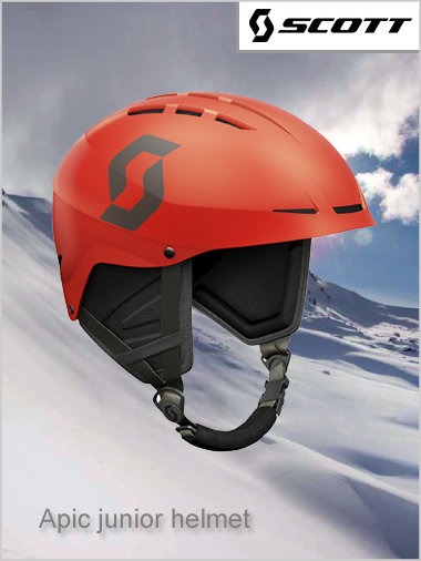 Apic JUNIOR helmet - red