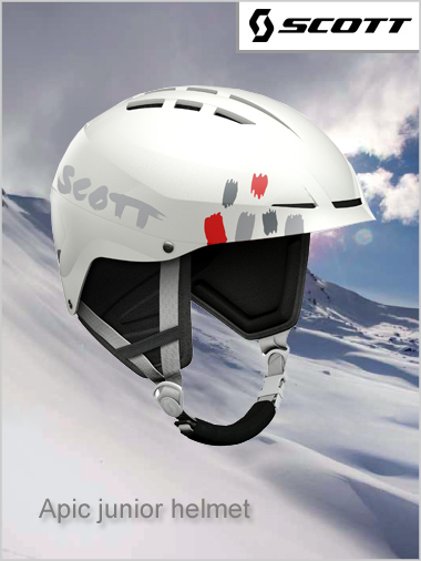 Apic JUNIOR helmet - white