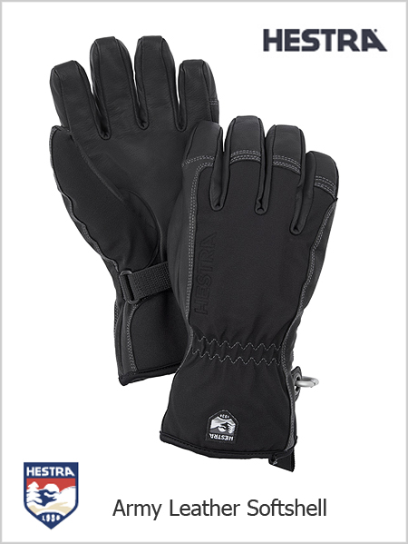 Army Leather Soft Shell gloves