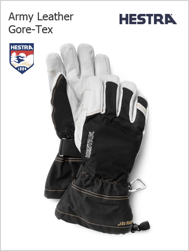 Army Leather Gore-tex gloves