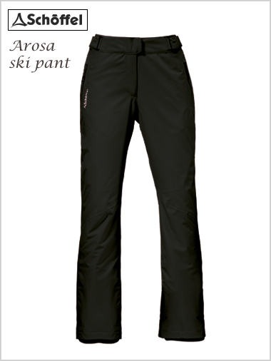Arosa ladies ski pants - black (only size 16 now left)