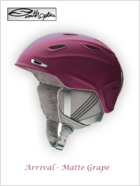 Arrival helmet - matte grape