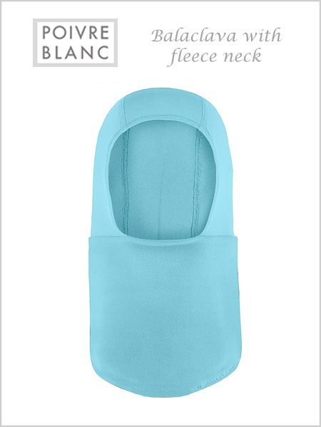 Balaclava / fleece neck (Dream blue) - toddler / child