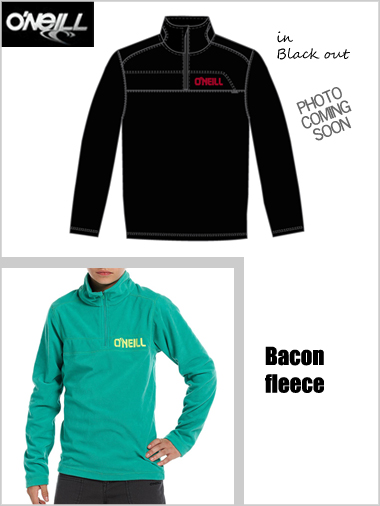 Junior boys - Bacon fleece in black