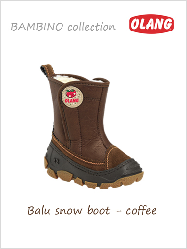 Balu snow boot - coffee