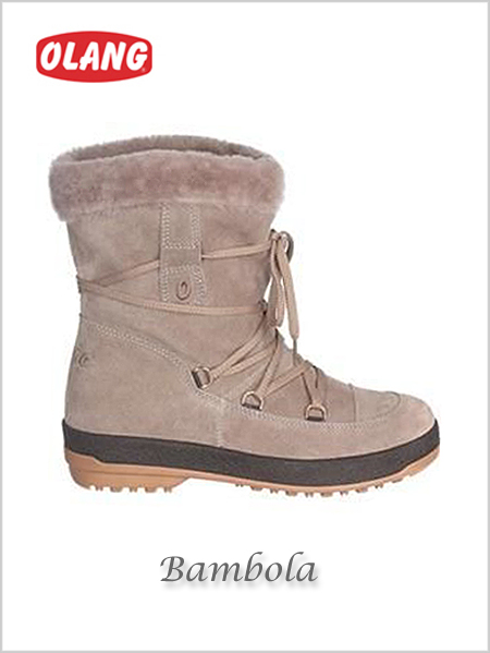 Bambola Tex snow boots - mole (only UK 5 now left)