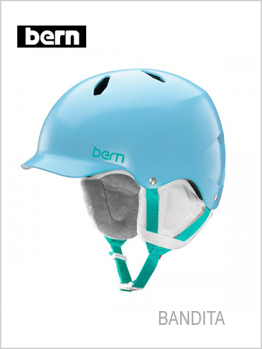 Bandita JNR helmet - satin light blue