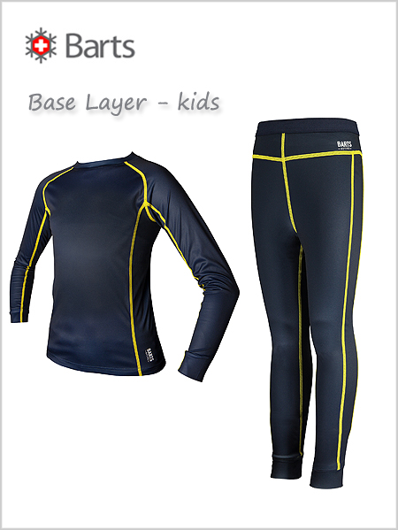 Barts Base Layer for kids - Navy