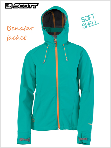 Benatar soft shell jacket