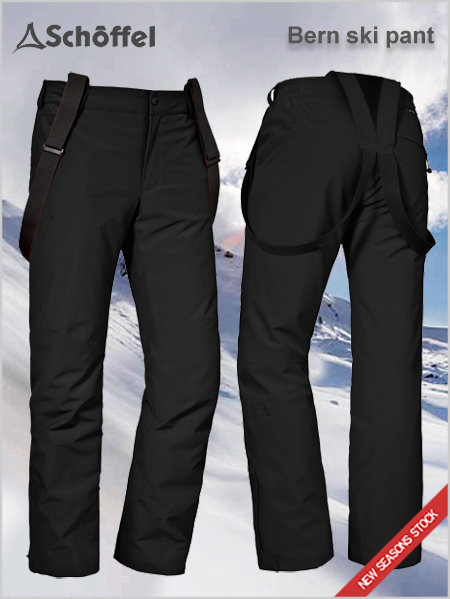 Bern 1 REGULAR ski pant - Black