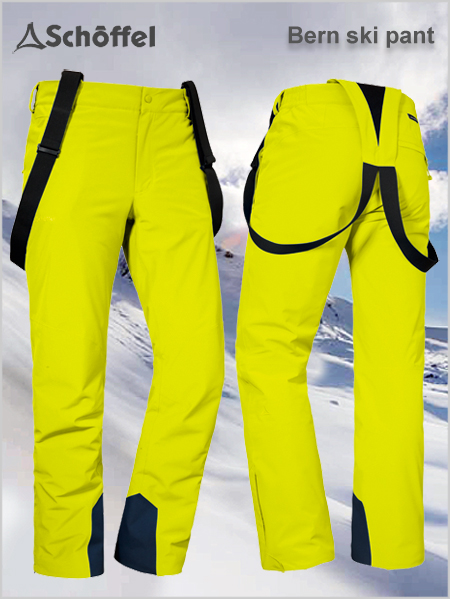 Bern 1 REGULAR ski pant - Evening primrose