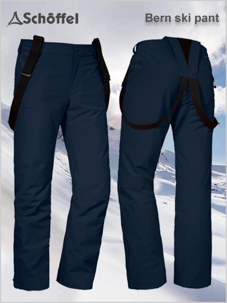 Bern 1 REGULAR ski pant - Navy blazer