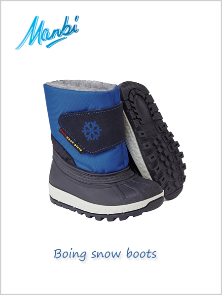 Boing snow boots Blue - child