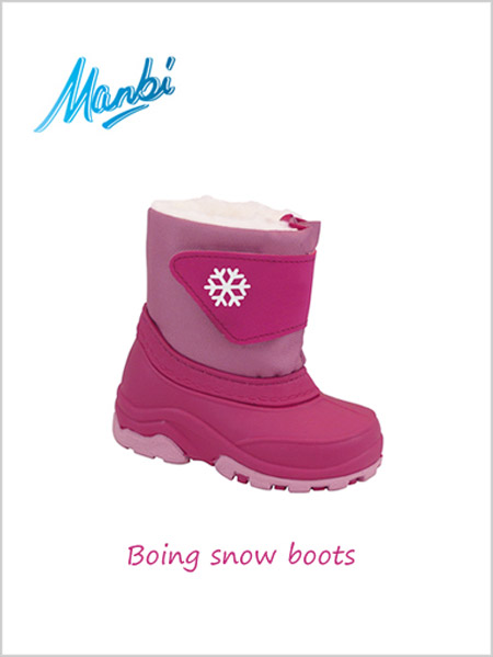Boing snow boots Fuchsia - child