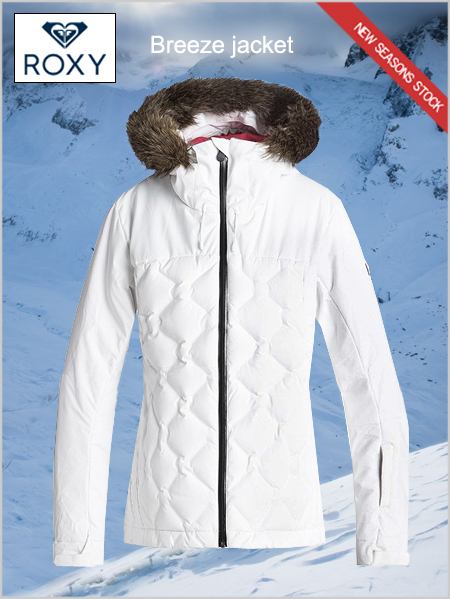 Breeze quilted Down snow jacket - Bright white