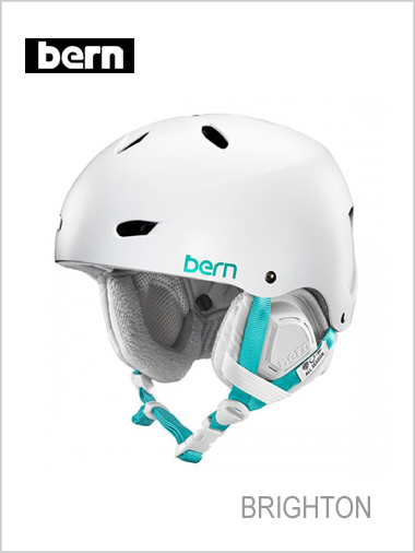 Brighton helmet - satin white