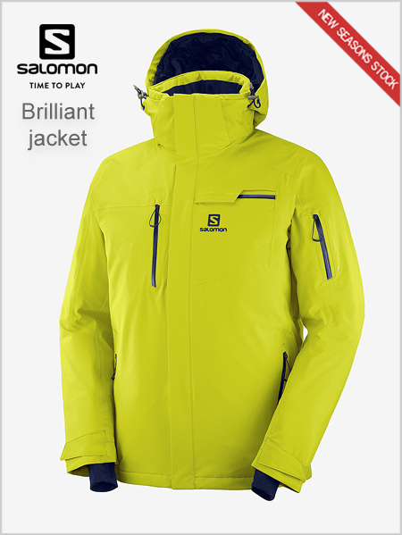 Brilliant Jacket - Citronell