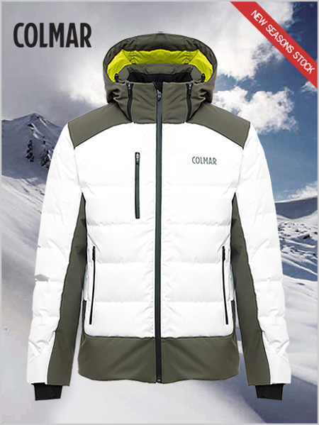 Chamonix ski jacket - White / jungle