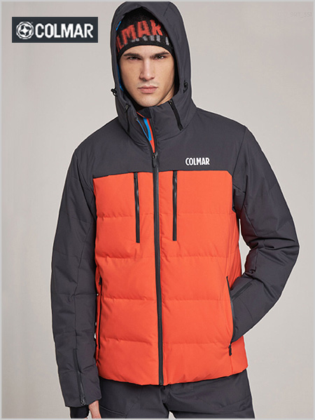 Chamonix ski jacket - Chilli red