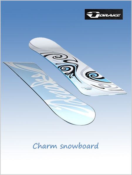 Charm snowboard - blue (only 147cm now left)