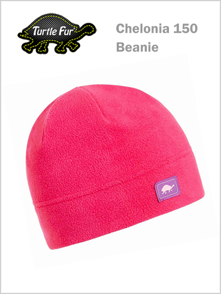 Turtle fur Chelonia 150 Beanie - Positively pink