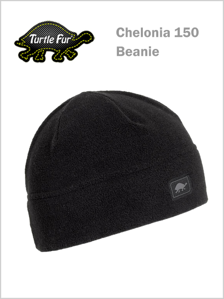 Turtle fur Chelonia 150 Beanie - Black