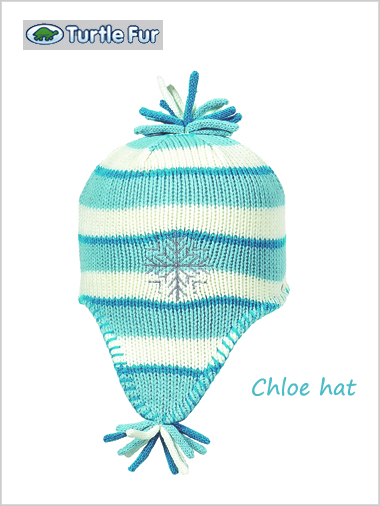 Chloe hat in blue - child