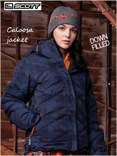 Caloosa Down jacket - Night check twill (only L now left)