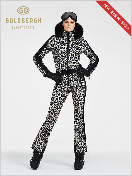 Cougar one-piece suit - Leopard