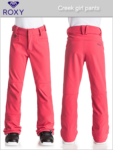 Ages 16: Creek girl pant - neon grapefruit