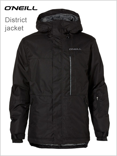 District jacket - black
