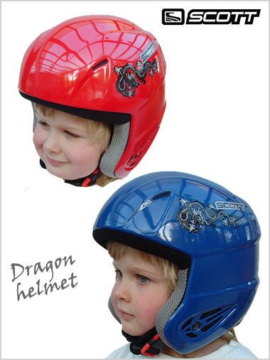 Clearance - Scott USA helmet - Dragon helmet (junior)