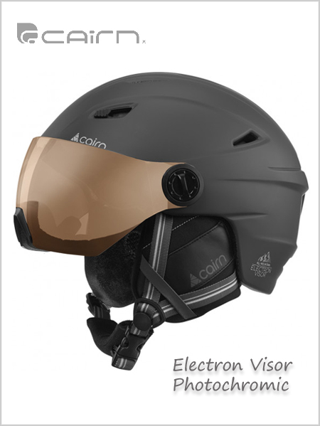 Electron Visor Photochromic - mat black