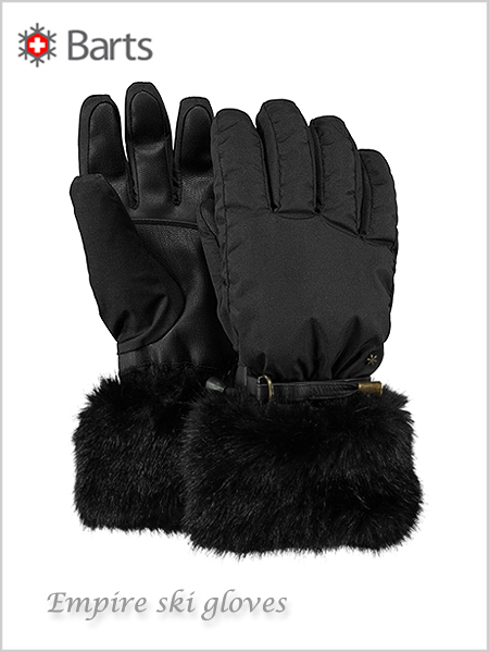 Empire ski gloves - black